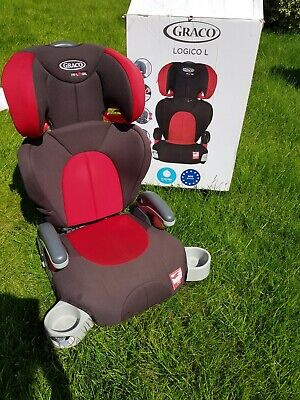 £16 • Buy Graco Logico L High Back Booster Car Seat - Group 2-3 - Second Hand