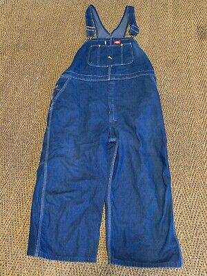 $20 • Buy Mens Dickies Overalls Coveralls Blue Jean Size 48 X 30