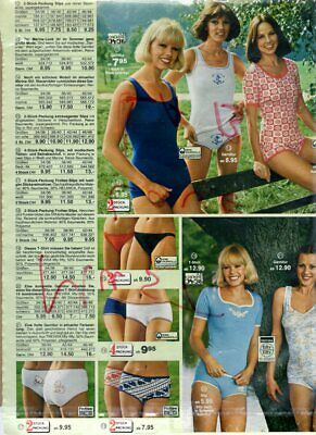 $14.99 • Buy Small Lot Of Vintage Catalog Lingerie Photo Clippings