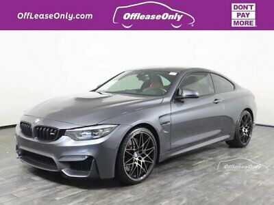 $51999 • Buy 2018 BMW M4 Coupe RWD Off Lease Only 2018 BMW M4 Coupe RWD Twin Turbo Premium Unleaded I-6 3.0 L/182