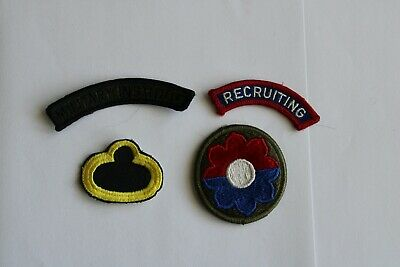 $4.99 • Buy Lot Of 4 Military Patches (c)