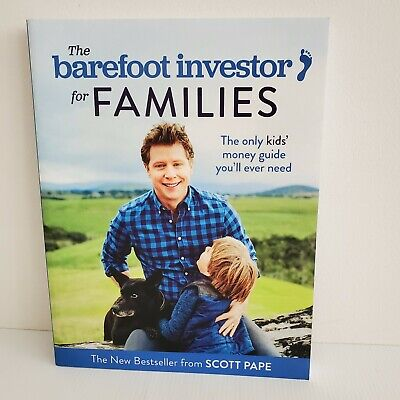 AU15 • Buy The Barefoot Investor For Families ; By Scott Pape - Paperback Book