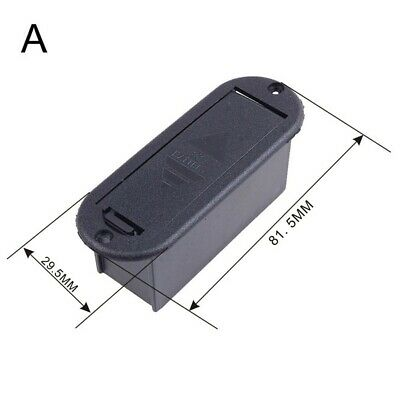 £5.11 • Buy 9V Battery Cover Case Holder Box Compartment For Guitar Bass Replacement