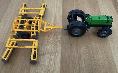 £3 • Buy Britians Farm Green Tractor And Plough - At Fault