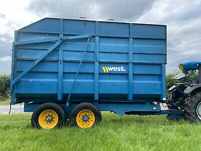 £8400 • Buy West 10 Ton Silage Trailer