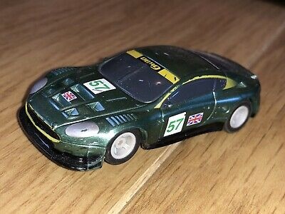 £4.99 • Buy Micro Scalextric Hornby Slot Car Aston Martin DB9 No57 Green Tested Working