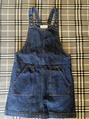 £4 • Buy Girls Age 7-8 Years Denim Dress Dungaree Summer Party Clothing Good Condition
