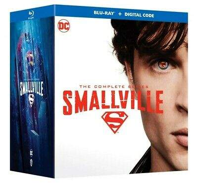 £174.56 • Buy Smallville: The Complete Series (Blu-ray/Digital) Ship 10/19