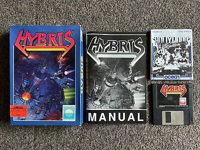 £149.95 • Buy Very Rare 1988 Hybris Commodore Amiga 500 Floppy Disk Game Boxed With Manual