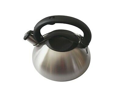 AU36.80 • Buy Matte Stainless Steel Whistling Kettle 3L Stove Top Gas Induction Teapot
