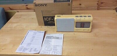 £22.95 • Buy Sony ICF-880L 4-band Receiver, 3 FM Presets, Short Wave With Box (please Read!)