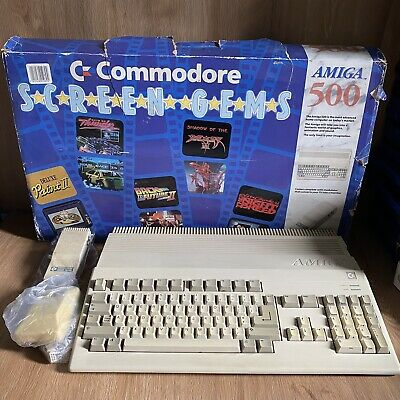 £224.99 • Buy Commodore Amiga 500 A500 Computer - Tested And Working - Boxed