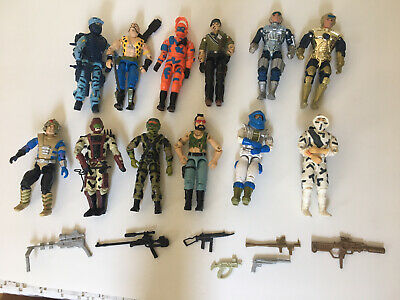 $ CDN50.16 • Buy LOT A OF 12 1980's GI JOE ACTION FIGURES 3.75  & WEAPONS Exc. Cond.