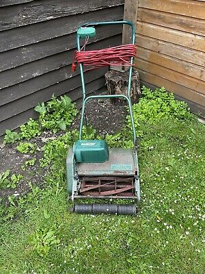 £10 • Buy Qualcast Electric Punch Lawnmower Vintage Cylinder Mower Roller