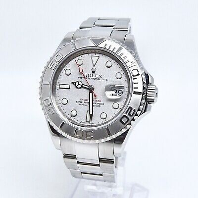$ CDN15688.28 • Buy Rolex Yachtmaster Platinum 16622 Box And Papers 2008 40mm Discontinued Rehaut