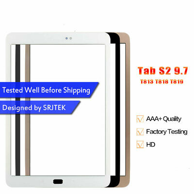£7.99 • Buy Front Glass Touch Outer Lens Panel For Samsung Galaxy Tab S2 2016 T813 T819 T818
