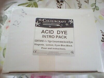 £10 • Buy Acid Dye Introduction Pack By Colourcraft