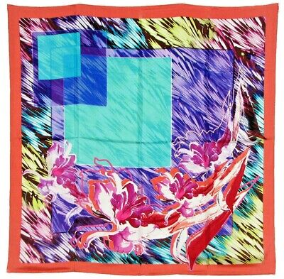 $21.99 • Buy Women's 100% Twill Silk Scarf / Multi-colored / Abstract / 34  X 34