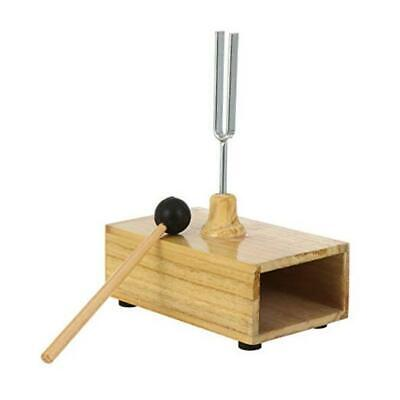 AU27.78 • Buy  Tuning Forks Wood Bases Tuning Fork And Mallet Mounted Wood Box 1 Set