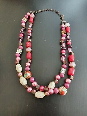 £2.99 • Buy Ladies Multicolored Summer Necklace, In Excellent Cond