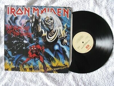 £1.50 • Buy IRON MAIDEN. The Number Of The Beast. EMI.