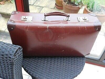 £20 • Buy 1940's SMALL SUITCASE BROWN NO KEY