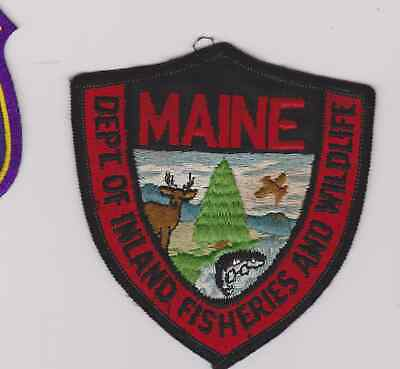 $10 • Buy Older Maine Inland Fisheries & Wildlife Biologists Game Warden Police Patch