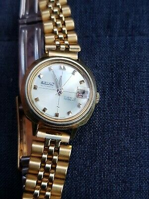 £25 • Buy Seiko Ladies Watch Automatic Gold Plated Vgc