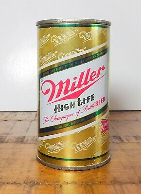 $10 • Buy Very Clean Bottom Opened Miller Gold Flat Top Milwaukee Wisconsin Shiny Clean