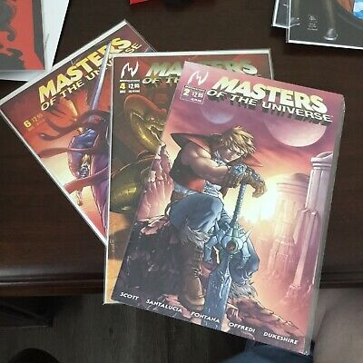 $12 • Buy Masters Of The Universe #2, 4, AND 6~ MVCreations 2004