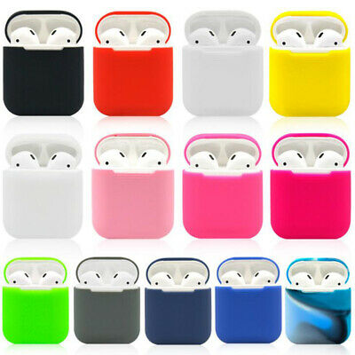 $ CDN2.05 • Buy Silicone Shock Proof Protective Cover Case Slim Skin For Apple AirPods Earphones