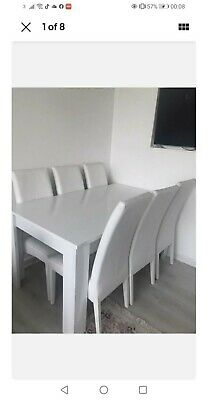 £100 • Buy Extendable Dinning Table And 5 Chairs