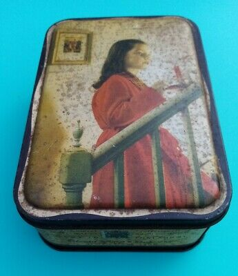 £10 • Buy Vintage Sharps Confectionery Sweet Tin 1950s