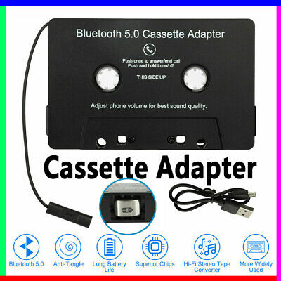 £13.92 • Buy Car Cassette Casette Tape MP3 MP4 Player CD IPod IPhone 3.5mm AUX Audio Adapter