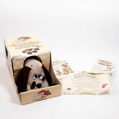 £17.50 • Buy Original Pound Puppies Vintage 1984 Hornby Boxed With Certificates