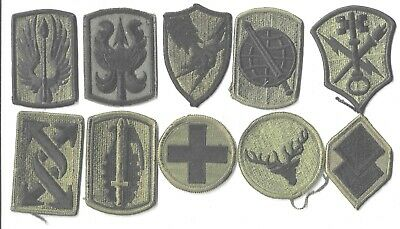 $7 • Buy Lot Of 10 Different U.s. Military Patches  (mp 4565)
