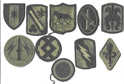 $7 • Buy Lot Of 10 Different U.s. Military Patches  (mp 4567)