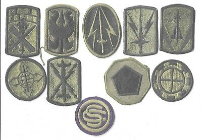$7 • Buy Lot Of 10 Different U.s. Military Patches  (mp 4569)