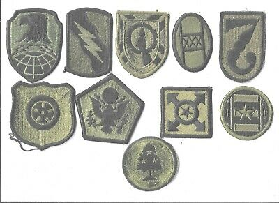 $7 • Buy Lot Of 10 Different U.s. Military Patches  (mp 4570)