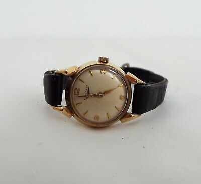 $ CDN92.44 • Buy Longines - Vintage Wristwatch - Gold Watch With Leather Strap