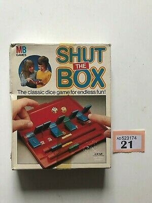 £13 • Buy Shut The Box - Mb Travel Game 1983 (100% Complete) (free P&p)