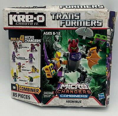 £14.39 • Buy NEW Transformers Abominus Micro Changers Combiners Kre-O OPEN BOX