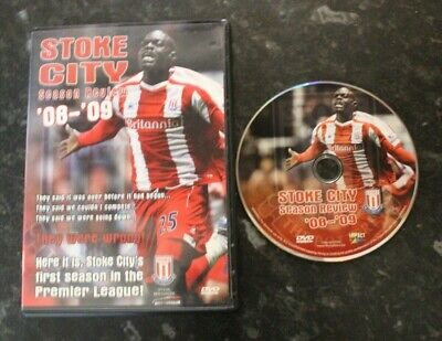 £7.45 • Buy Official Stoke City FC Season Review 08 - 09 DVD VGC FREE Postage