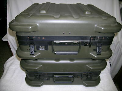 $449.95 • Buy (4) US Military Surplus (Hardigg Type) Shipping/Road/Expedition Cases, Exc.