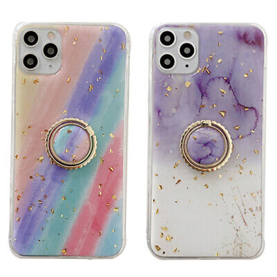 AU10.25 • Buy Mobile Phone Case Rainbow Protective Cover With Ring Stand For Iphone11 12 Gifts
