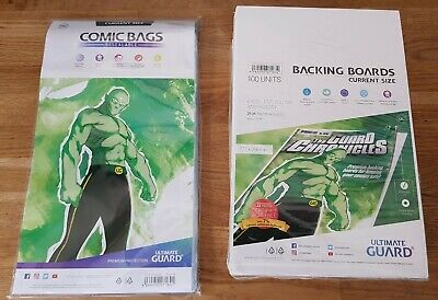 £15.99 • Buy Ultimate Guard Current Age Size Comic Book Bags & Backing Boards Approx 85