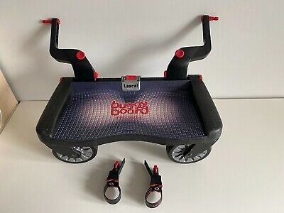 £34.99 • Buy Lascal Buggy Board Maxi Ride On Stroller Board With Connector Adapters