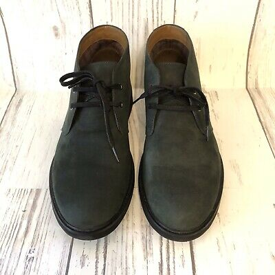 $39.95 • Buy Clarks Mens Size 10.5 Riston Style Leather Ankle Dress Chukka Boots Lace Up