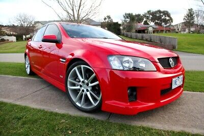 AU23990 • Buy 2008 Holden Commodore VE SS. Low Km,sunroof,immac,red On Red. Hsv,gts,ssv,r8,v8