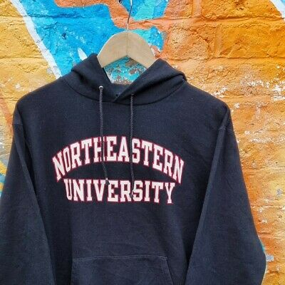 £17 • Buy Northeastern University Champion Spellout Hoodie Small